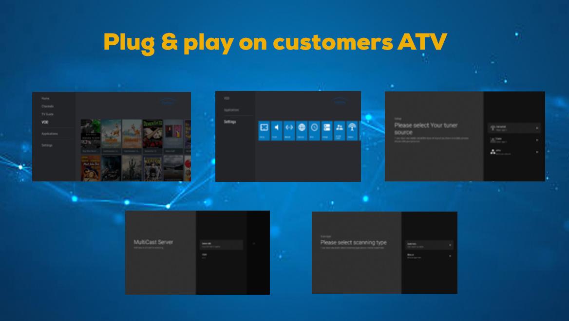 DVB Applıcatıon For Pay TV Dongle